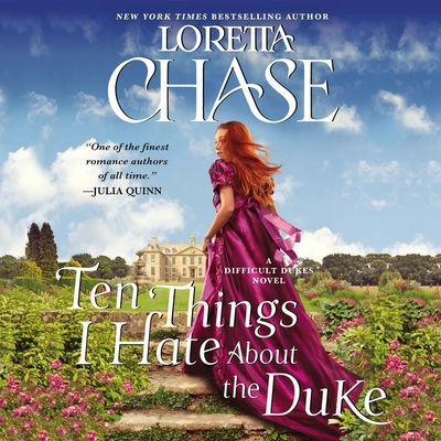 Ten Things I Hate about the Duke Lib/E: A Difficult Dukes Novel Cover Image