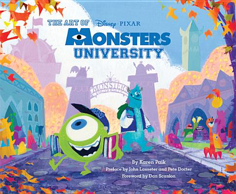 The Art Of Monsters University Brookline Booksmith