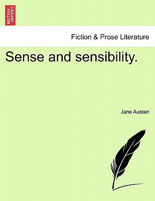 Cover for Sense and Sensibility.