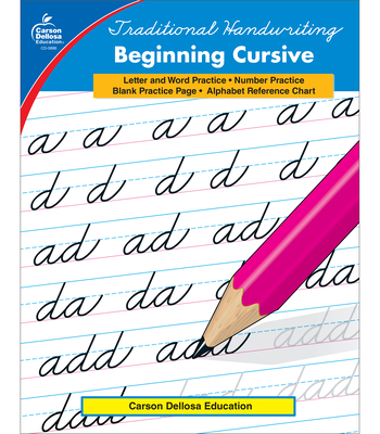 Traditional Handwriting: Beginning Cursive, Grades 2 - 5 Cover Image