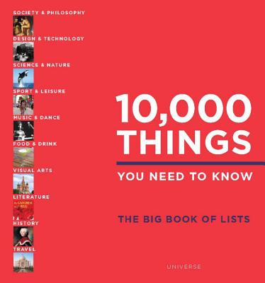 10,000 Things You Need to Know: The Big Book of Lists Cover Image