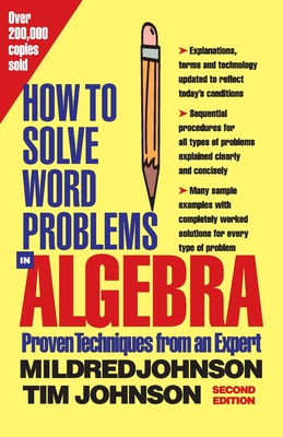 How to Solve Word Problems in Algebra, 2nd Edition Cover Image