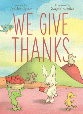 We Give Thanks Cover Image