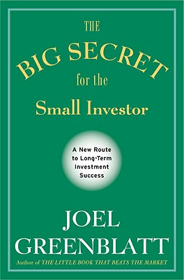 The Big Secret for the Small Investor Cover