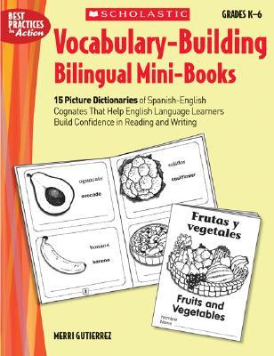 Vocabulary-Building Bilingual Mini-Books Cover