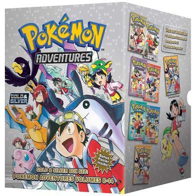 Pokémon Adventures Gold & Silver Box Set (Set Includes Vols. 8-14) (Pokémon Manga Box Sets) Cover Image