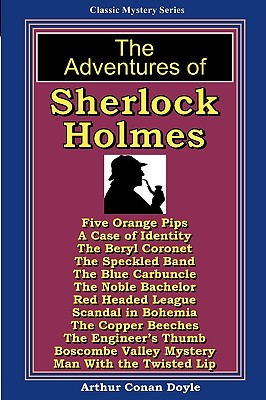 The Adventures Of Sherlock Holmes: A Magic Lamp Classic Mystery Cover Image