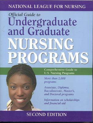 Guide to Undergraduate and Graduate Nursing Programs [With CDROM] (Official Guide to Undergraduate & Graduate Nursing Schools) Cover Image
