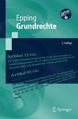 Grundrechte (Springer-Lehrbuch) Cover Image