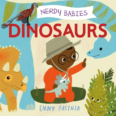 Nerdy Babies: Dinosaurs Cover Image
