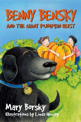 Benny Bensky and the Giant Pumpkin Heist Cover