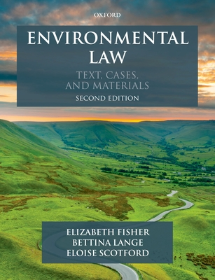Environmental Law: Text, Cases & Materials Cover Image