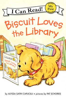 Biscuit Loves the Library (My First I Can Read) Cover Image