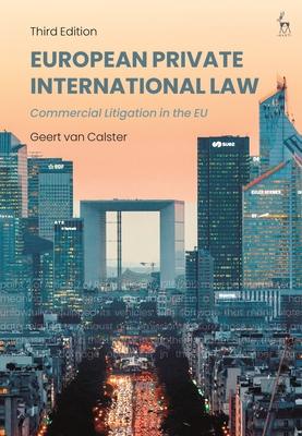 European Private International Law: Commercial Litigation in the EU Cover Image