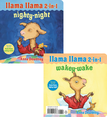 Llama Llama 2-in-1: Wakey-Wake/Nighty-Night Cover Image