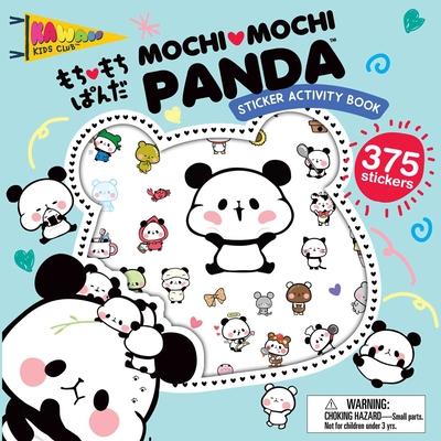 Mochi Mochi Panda Sticker Activity Book (Kawaii Kids Club) Cover Image