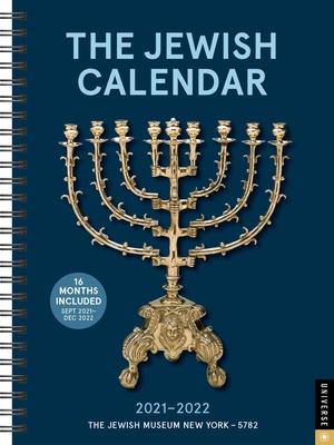 The Jewish Calendar 16-Month 2021-2022 Engagement Calendar: Jewish Year 5782 Cover Image