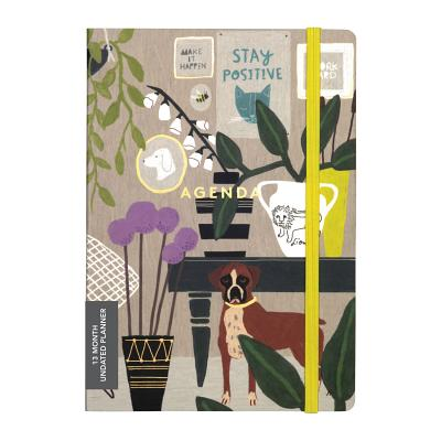 Anne Bentley Inspired Life Gilded Undated Planner Cover Image
