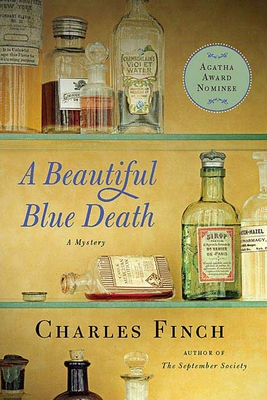 A Beautiful Blue Death: The First Charles Lenox Mystery (Charles Lenox Mysteries #1) Cover Image
