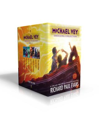 Michael Vey Shocking Collection Books 1-7: Michael Vey, Michael Vey 2, Michael Vey 3, Michael Vey 4, Michael Vey 5, Michael Vey 6, Michael Vey 7 Cover Image