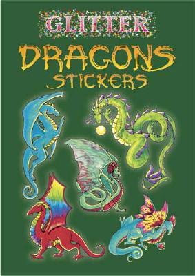Glitter Dragons Stickers Cover Image