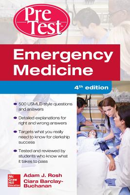Emergency Medicine Pretest Self-Assessment and Review Cover Image