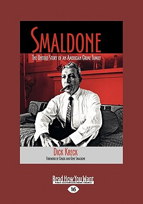 Smaldone: The Untold Story of an American Crime Family (Large Print 16pt) Cover Image