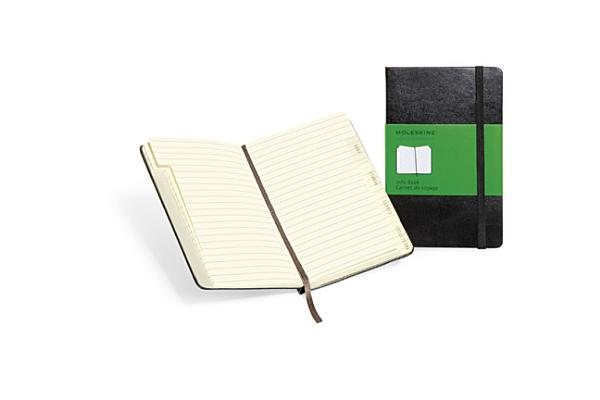 Moleskine Classic Info Book, Pocket, Structured, Black, Hard Cover (3.5 x 5.5) (Classic Notebooks) Cover Image