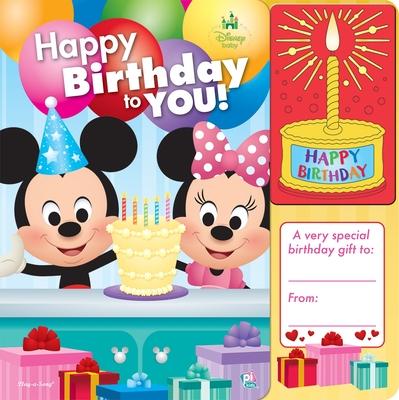 Happy Birthday to You! (Disney Baby) Cover Image