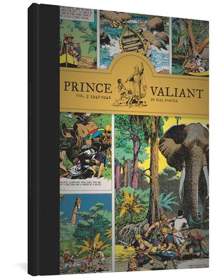 Prince Valiant Vol. 3: 1941-1942 Cover Image