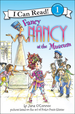Fancy Nancy at the Museum (I Can Read! Beginning Reading: Level 1 (Prebound)) Cover Image