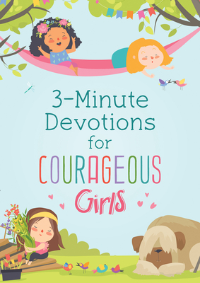 3-Minute Devotions for Courageous Girls Cover Image