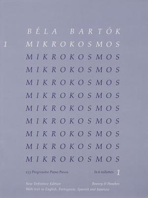 Bela Bartok - Mikrokosmos Volume 1 (Blue): 153 Progressive Piano Pieces Cover Image