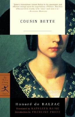 Cousin Bette (Modern Library Classics) Cover Image