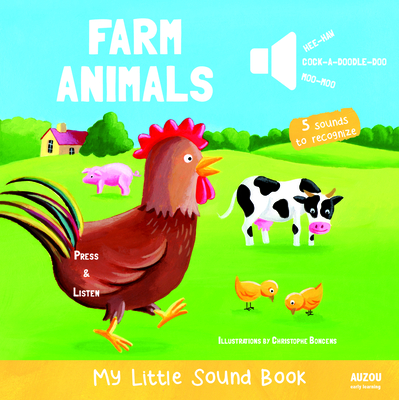 Farm Animals - My Little Sound Book (My Little Sound Books) Cover Image
