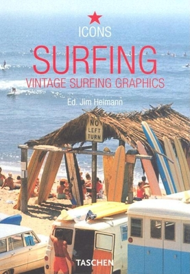 Surfing: Vintage Surfing Graphics Cover Image