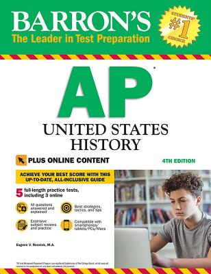 AP United States History: With Online Tests (Barron's Test Prep) Cover Image