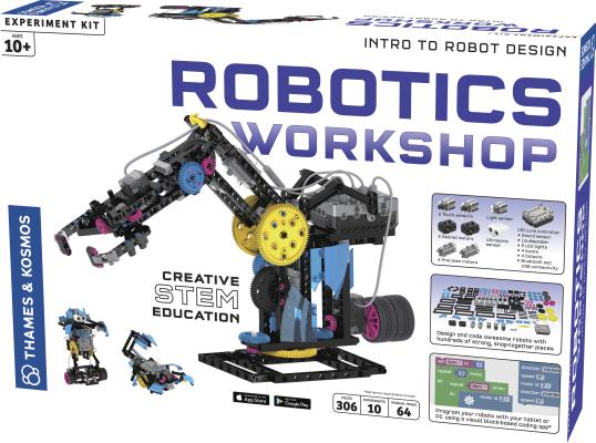 Robotics Workshop [With Battery] Cover Image