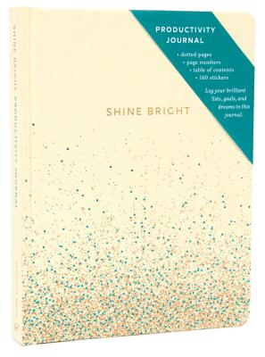 Shine Bright Productivity Journal, Cream Cover Image