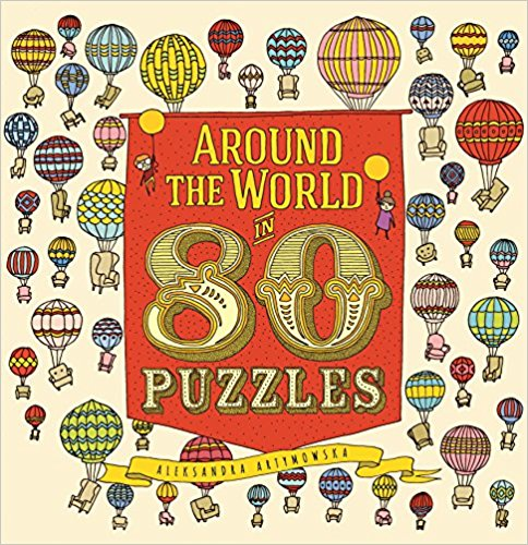 Around the World in 80 Puzzles Cover Image
