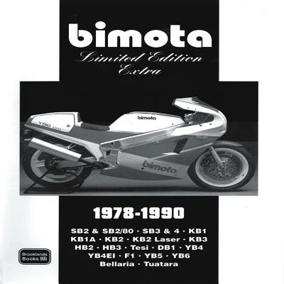 Cover for Bimota Limited Edition Extra 1978-1990