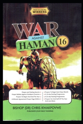 War Against Haman 16: Prayer Bullets For Winners 2021 Cover Image