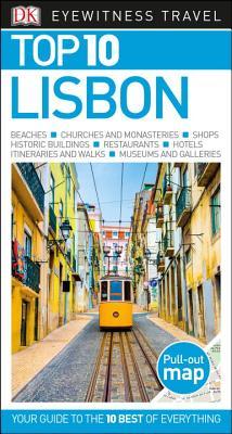 Top 10 Lisbon (DK Eyewitness Travel Guide) Cover Image