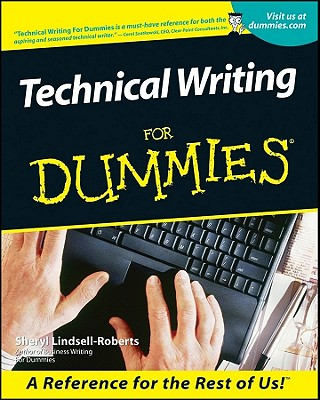 Technical Writing For Dummies Cover Image
