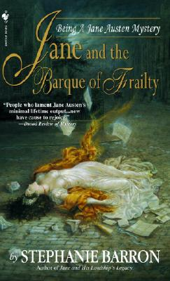 Jane and the Barque of Frailty Cover