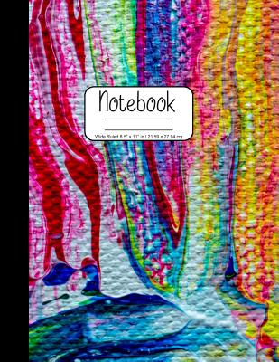 Notebook Wide Ruled 8.5