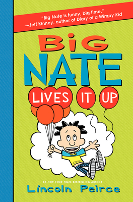 Big Nate Lives It Up Cover