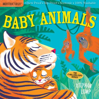 Indestructibles: Baby Animals: Chew Proof · Rip Proof · Nontoxic · 100% Washable (Book for Babies, Newborn Books, Safe to Chew) Cover Image