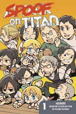 Spoof on Titan 1 (Attack on Titan) cover image