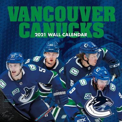 Vancouver Canucks 2021 12x12 Team Wall Calendar Cover Image